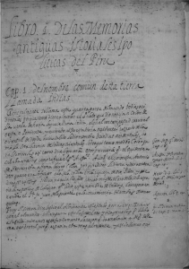 Manuscript page of the Ophir de España, written in humanistic script.